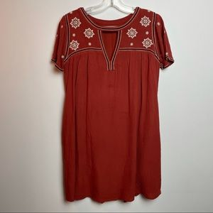 abercrombie and fitch boho dress size small pocket